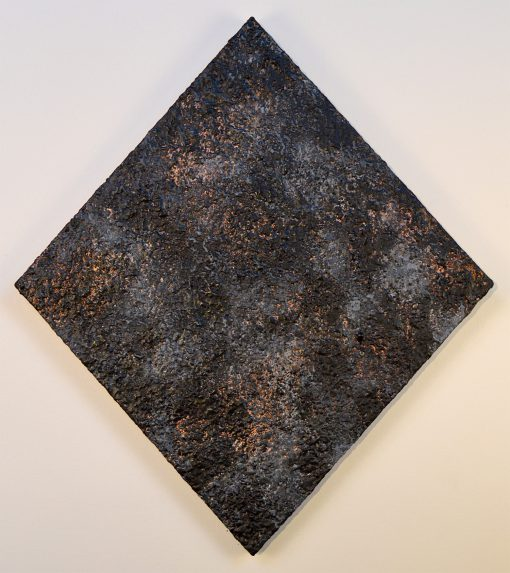 Scott Zagar: Union. Oil and Encaustic on panel. 18 x 16""